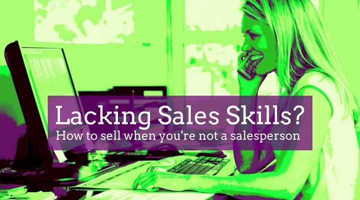 Sales Skills for for non-sales people