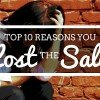 10 Reasons you Lost the Sale