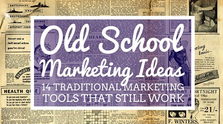 traditional marketing tools