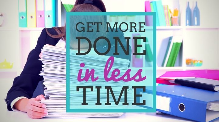 Could you get more done in less time?