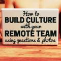 culture remote team