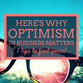 Optimism in business