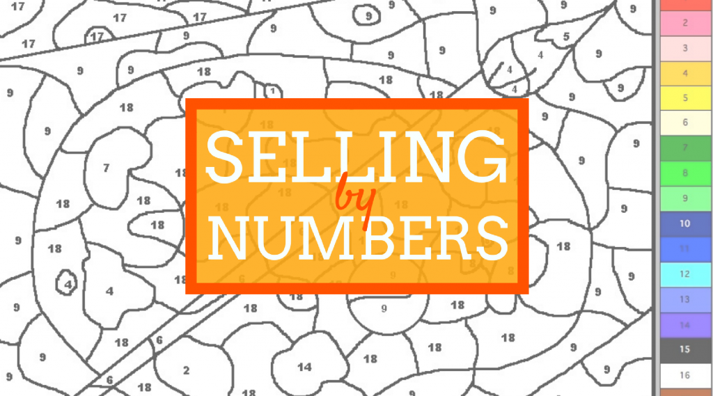 Selling by numbers